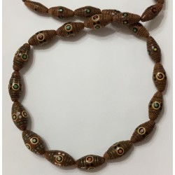 Hutzul Wooden Necklace