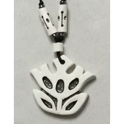 W-10 (White Ceramic Necklace)