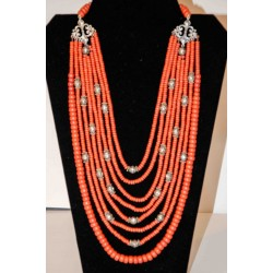 Terra-cotta Beads Necklace...